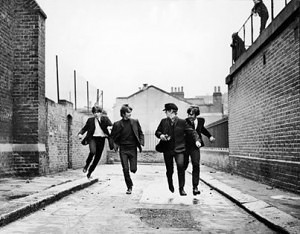 beatles alley 300x234 william f buckley beatles criticism 1964  William F. Buckley