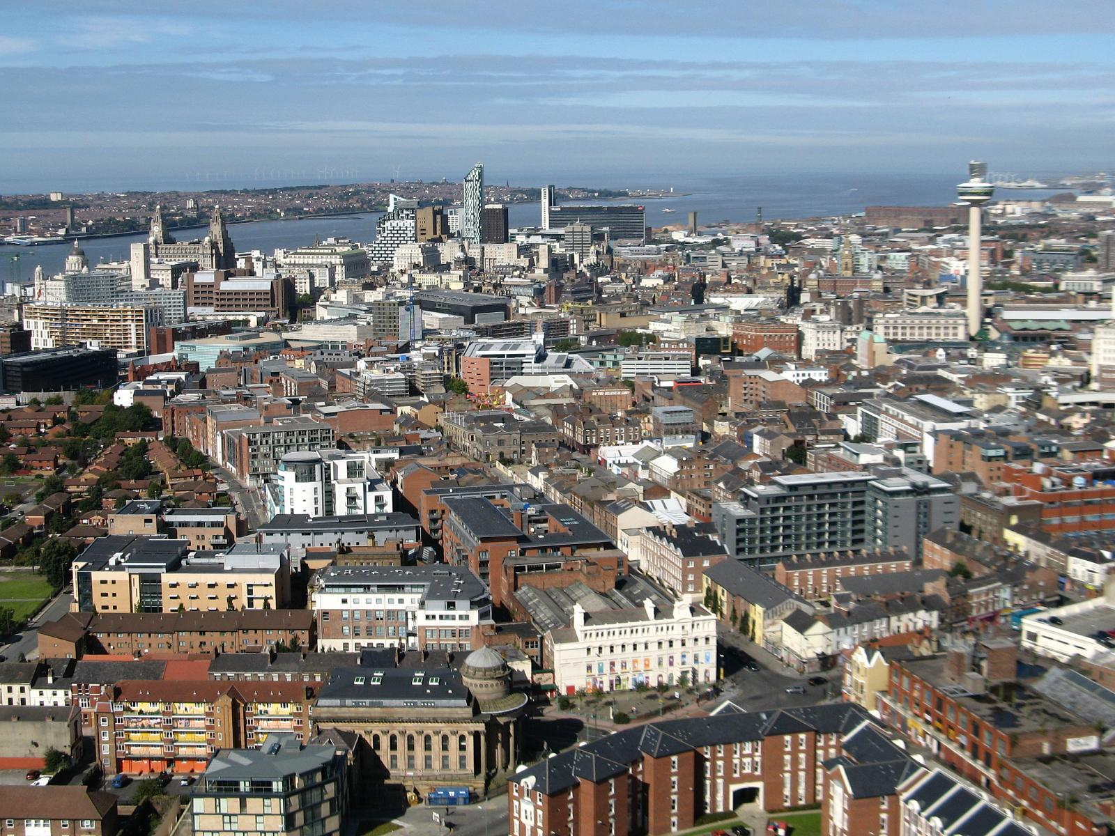 Liverpool city center