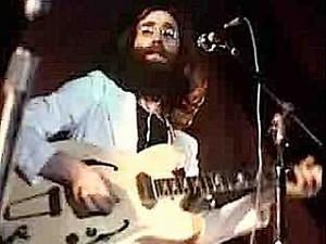 John Lennon onstage in Toronto 1969.