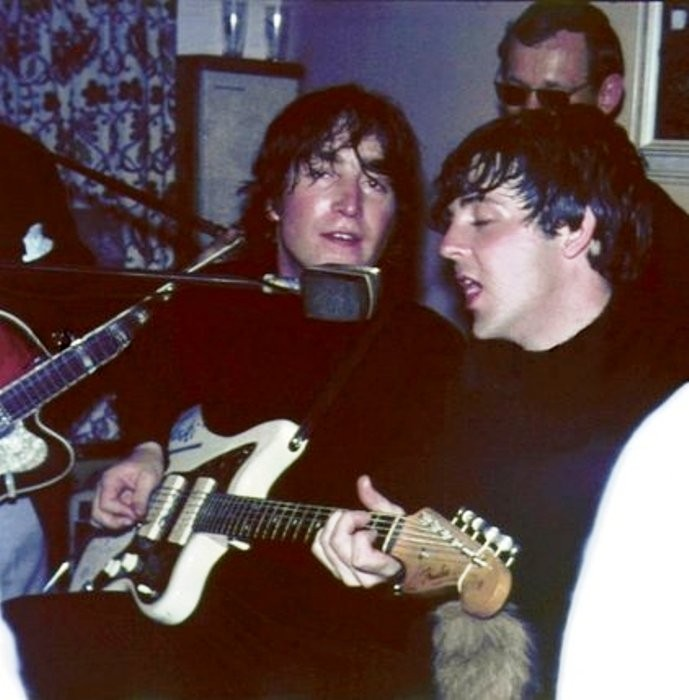 Sweaty John and Paul