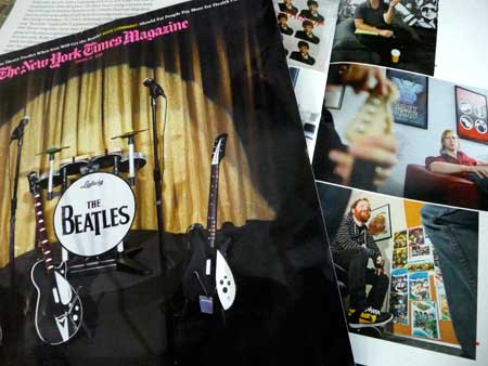 NYT Magazine on Beatles Rock band