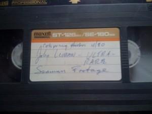Lennon sexual history Seaman videotape
