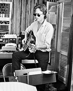 lennon and guitar 1980