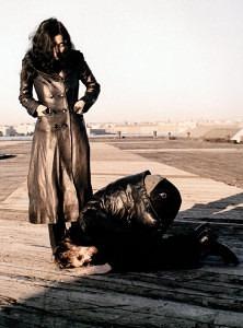 john kneeling before yoko