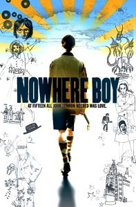 "Poster for ""Nowhere Boy,"" the Lennon biopic, 2010."