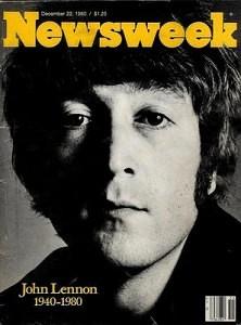 Lennon newsweek cover december 22 1980