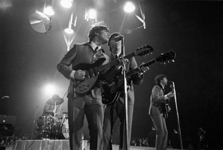 The Beatles in Washington, February 1964.