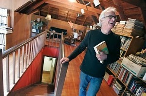 Greil Marcus, not outgrowing it.
