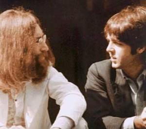 Lennon and McCartney, 1969