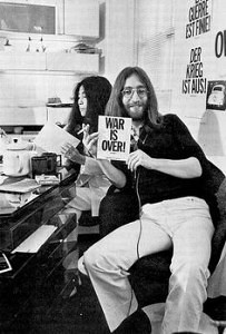 john and yoko war is over