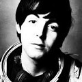 McCartney in spacesuit