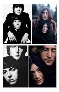 John and Paul and John and Yoko