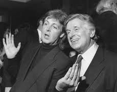 Sid Bernstein and Paul McCartney, for Mike's Sid Bernstein Obituary