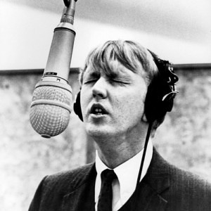 Harry Nilsson in the studio