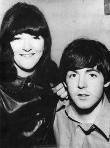 Paul McCartney and Freda Kelly
