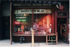 Magickal Childe bookstore, NYC