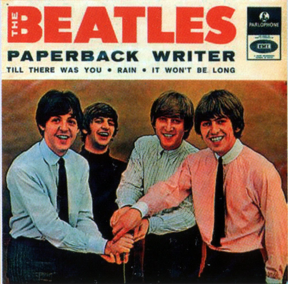 Paperback Writer Portuguese EP