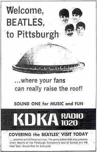 Beatles 1964 KDKA