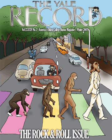 Yale Record Rock and Roll issue
