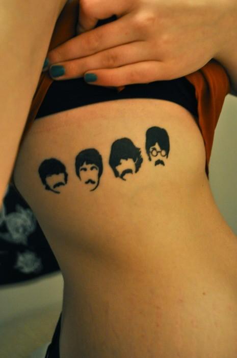 1967 Beatles tattoo