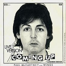 Coming Up Paul McCartney and Wings