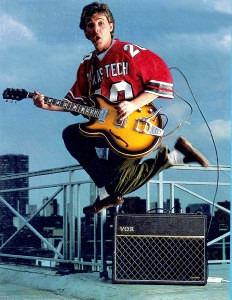 Paul McCartney Texas Tech jersey