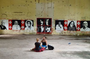 Beatles ashram graffiti India