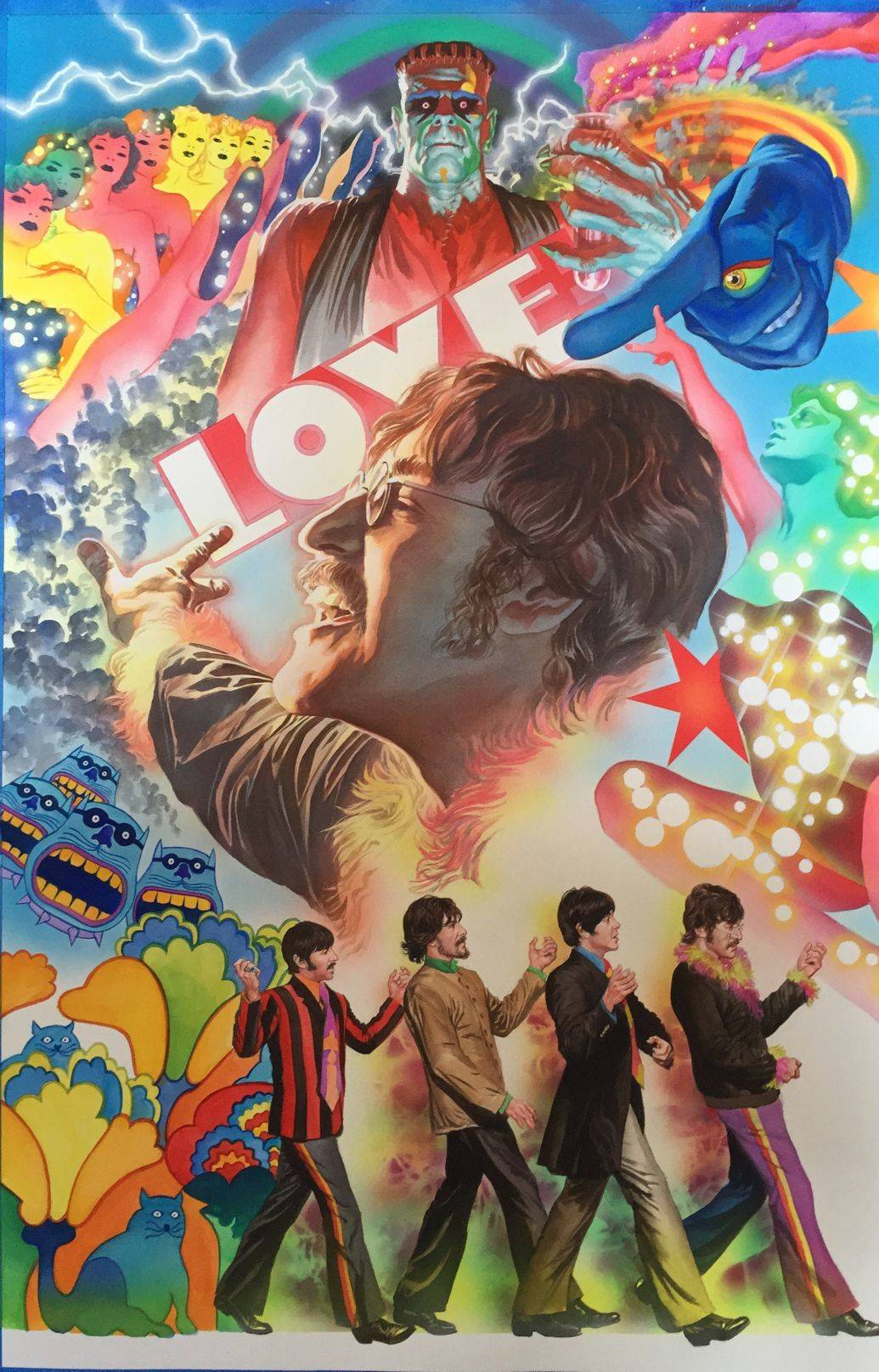 Alex Ross John Lennon