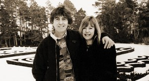 Jenny Boyd with George Harrison